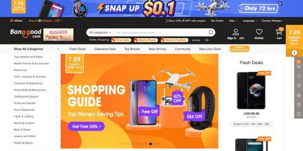 online shopping Banggood review