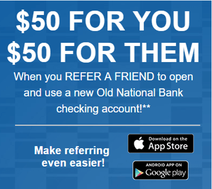 Old National Bank Refer A Friend Review-min