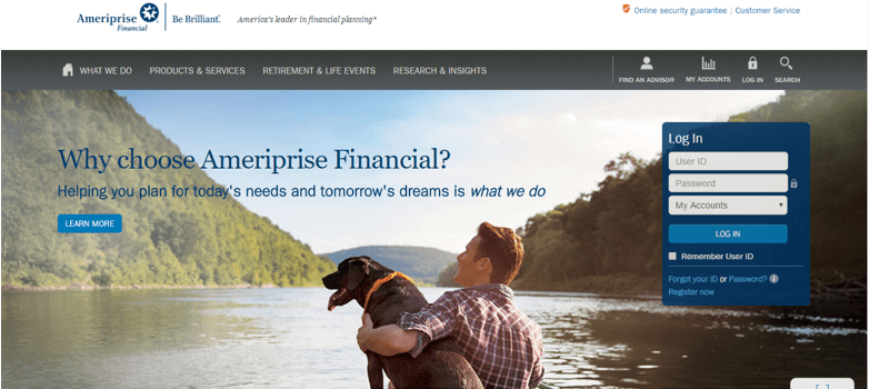 Review of Ameriprise Financial Advisors