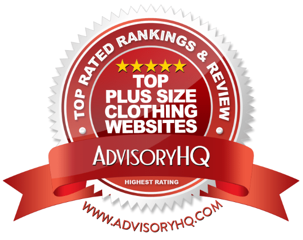 Top Plus Size Clothing Websites Red Award Emblem