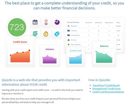 credit sesame vs credit karma vs quizzle