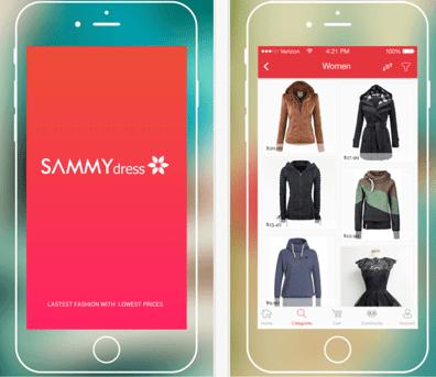 wish.com competitors sammy dress
