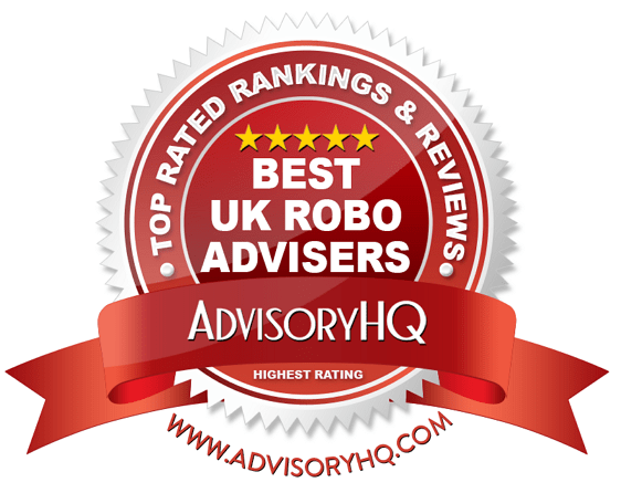 Best UK Robo Advisers Red Award Emblem