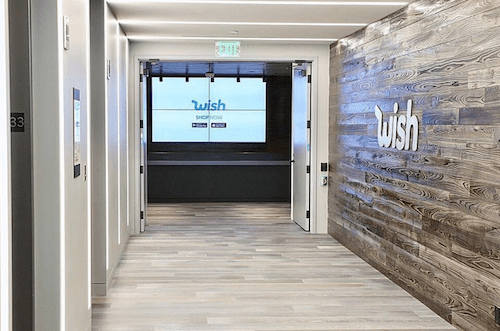 Wish app san francisco office