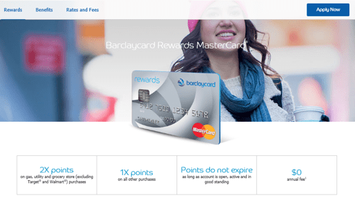 barclay credit card review