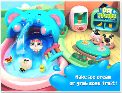 Dr. Panda's Swimming Pool free apps for toddlers