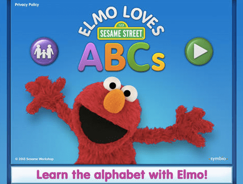 elmo loves abc free educational apps for toddlers