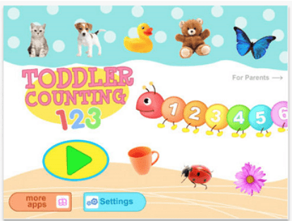 toddler counting 123 free toddler apps