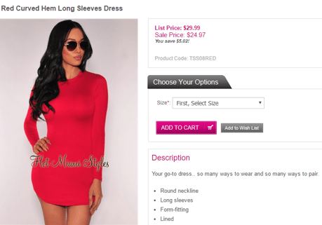 Hot miami styles coupon codes discount