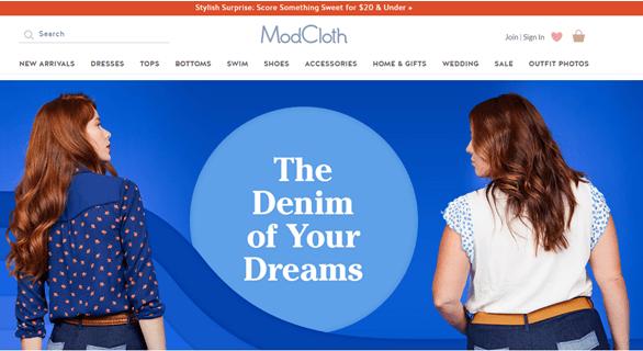 modcloth promo code-min