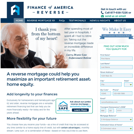 Reverse Mortgage Companies