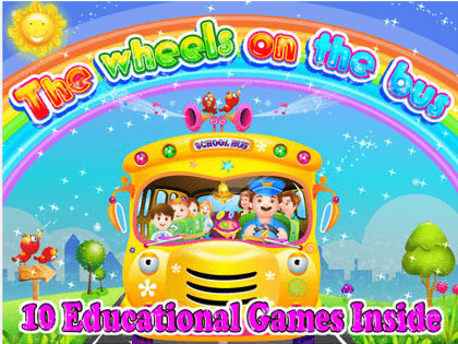 wheels on the bus toddler apps