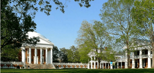 undergraduate business school rankings that include University of Virginia