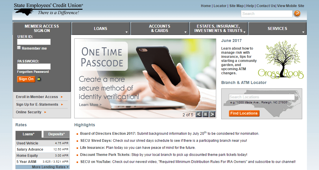 State Employees' Credit Union Review