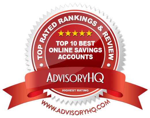 Best Online Savings Accounts Red Award Emblem