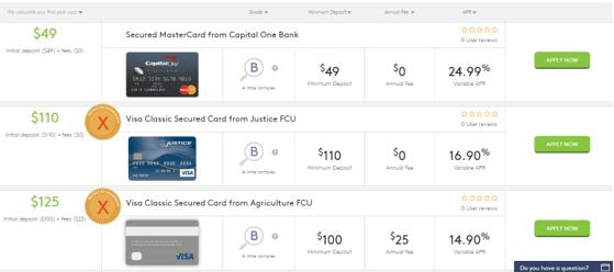 best secured credit card to rebuild credit