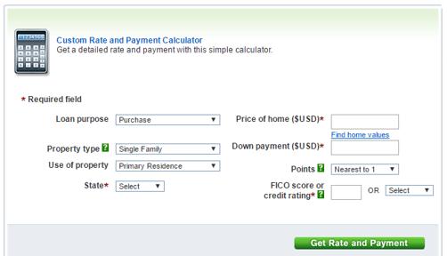 chase mortgage calculator