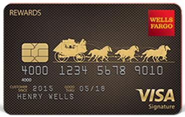 Wells Fargo Visa Signature Card - no balance transfer fee