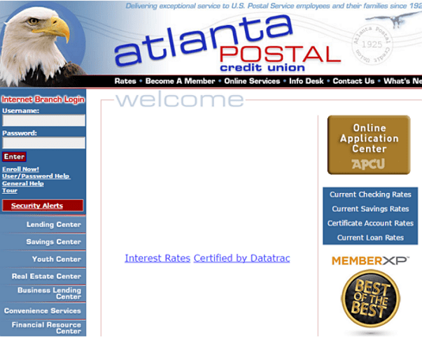 Atlanta Postal Credit Union Loans Review