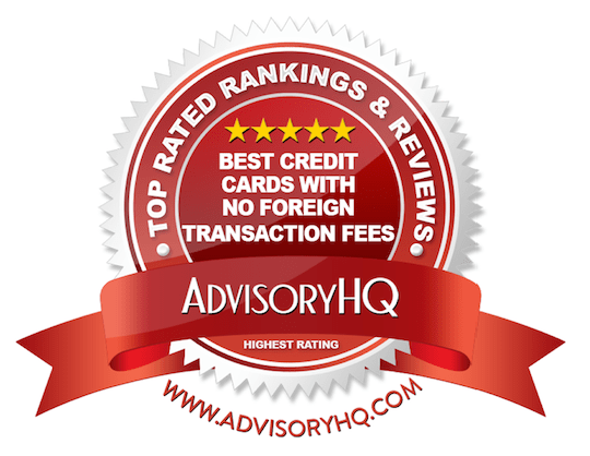 Best Credit Cards With No Foreign Transaction Fees Red Award Emblem