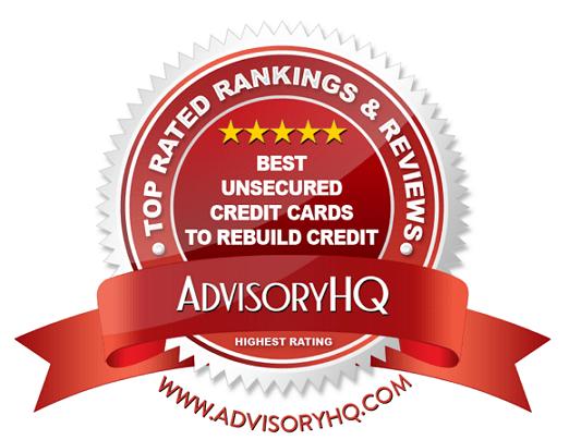 Best Unsecured Credit Cards to Rebuild Credit Red Award Emblem