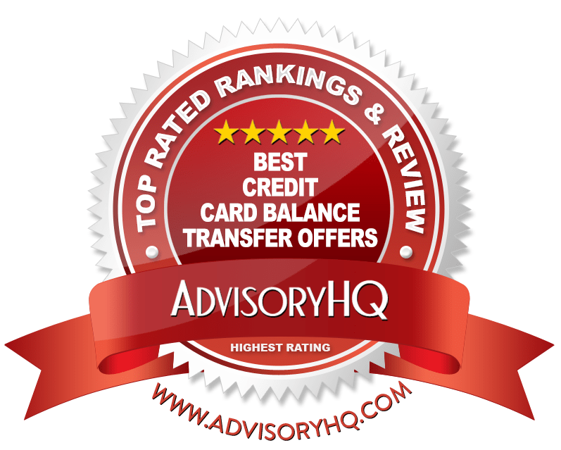 Best Credit Card Balance Transfer Offers Red Award Emblem