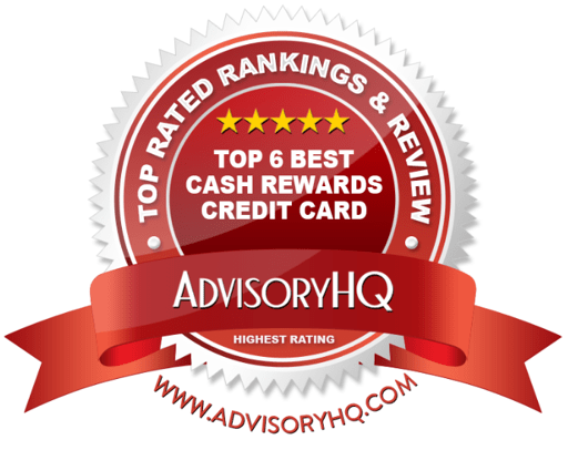 Best Cash Rewards Credit Card Red Award Emblem
