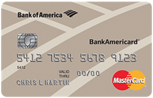 BankAmericard® Credit Card - interest free credit card transfer