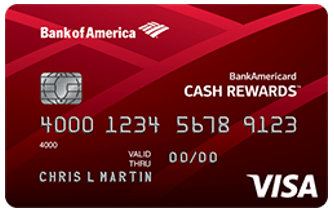 BankAmericard Cash Rewards™​ - credit cards for no credit