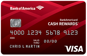 BankAmericard Cash Rewards™ Credit Card for Students - student credit cards with no credit