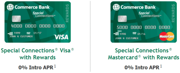 Commerce Bank Special Connections® with Rewards - compare best credit cards