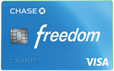 Chase Freedom® Card - the best credit cards