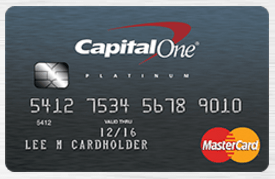 best starting credit card by capitalone