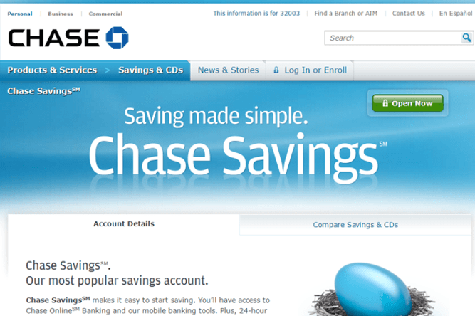 Chase Savings Account vs  Barclays Online Savings Account