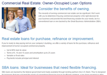 commercial property loan rates
