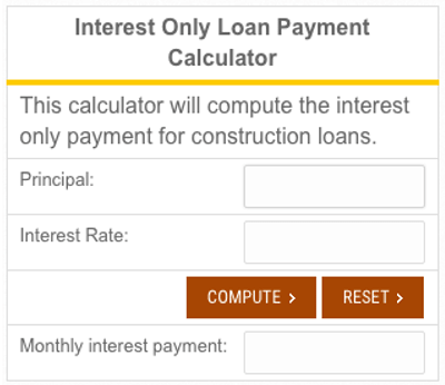 How to find the best construction loan rates in 2017 Interest only construction loan
