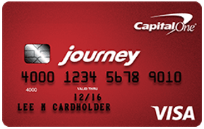 Journey Student Credit Card by Capital One - credit cards for students with bad credit