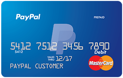 paypal free prepaid debit cards