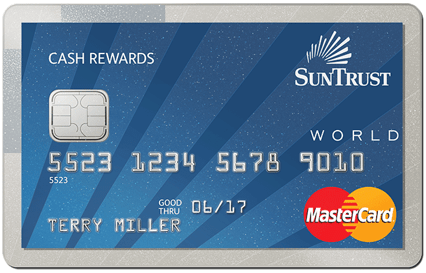 SunTrust Cash Rewards Credit Card - no balance transfer fee credit cards