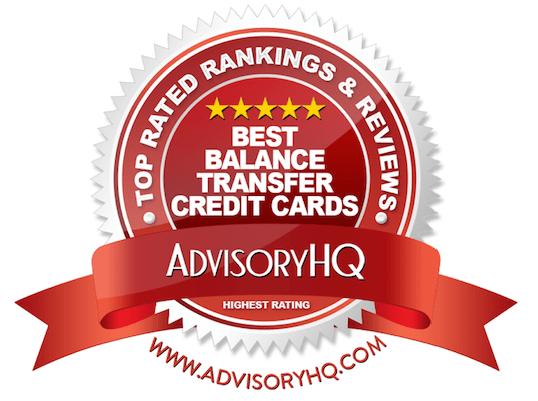Red Award Emblem for Best Balance Transfer Credit Cards