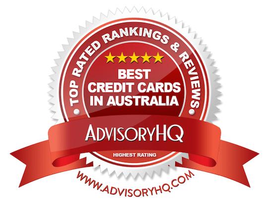 Best Credit Cards in Australia Red Award Emblem