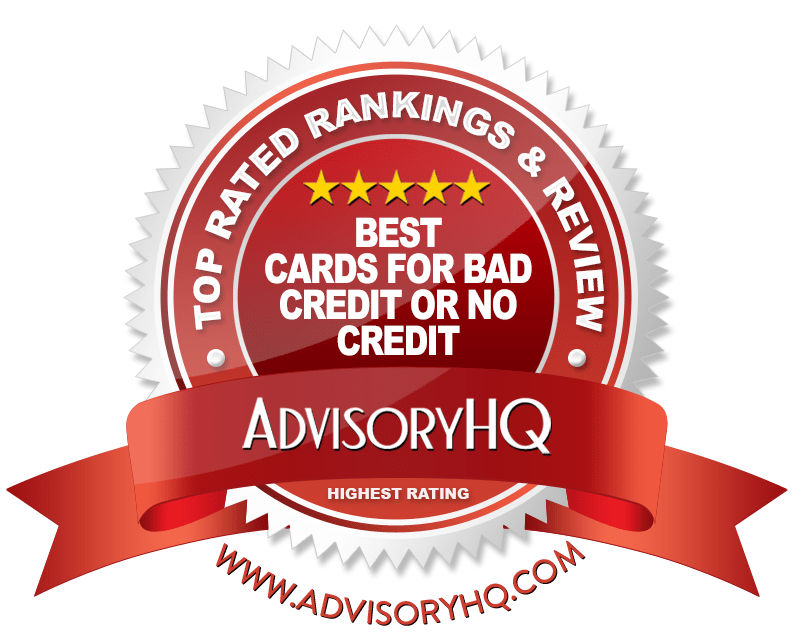 Best Cards for Bad Credit or No Credit Red Award Emblem