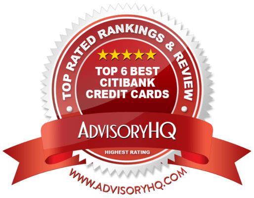 Best Citibank Credit Cards Red Award Emblem
