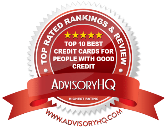 Best Credit Cards for People with Good Credit Red Award Emblem