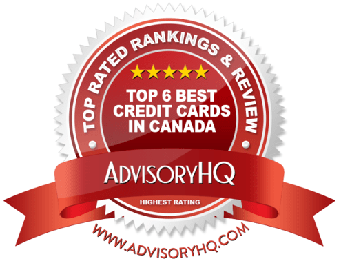 Best Credit Cards in Canada Red Award Emblem