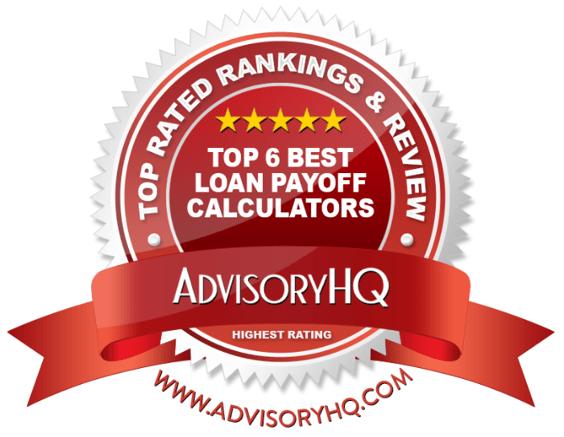 Best Load Payoff Calculators Red Award Emblem