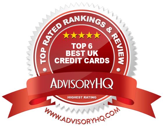 Best UK Credit Cards Red Award Emblem