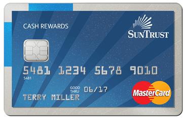 suntrust bad credit gas cards