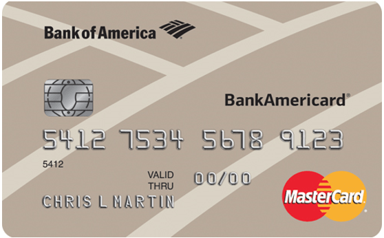 bank of america the best secured credit card