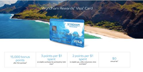 Barclaycard Wyndham Rewards Visa Signature Credit Card